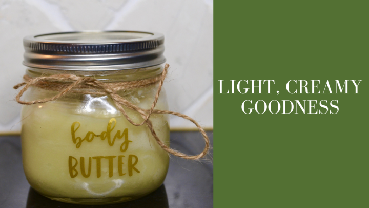 DIY whipped body butter with essentialoils