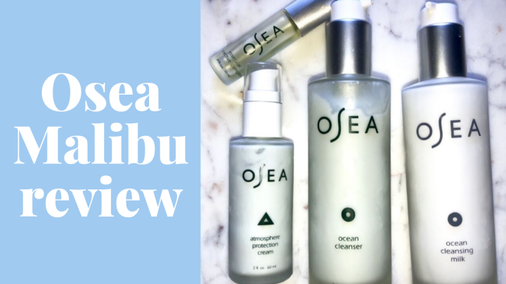 My newfound love for Osea Malibu skincare